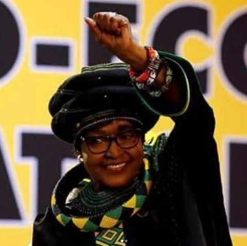 It is with great sadness to announce the passing of Cde Nomzamo Winnie Madikizela-Mandela today, 02 April 2018. A struggle icon has fallen